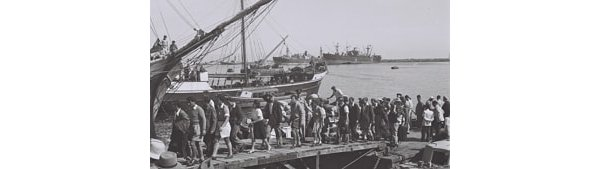 Jews arriving in Palestine in the 1930s