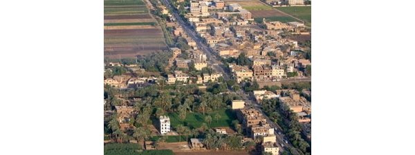 Small hamlet of Luxor