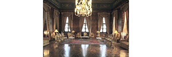 Typical room in Egyptian rulers Palace