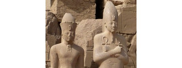 Statues of Pharaohs