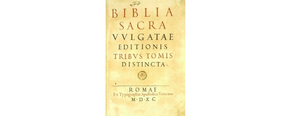 The Vulgate Bible