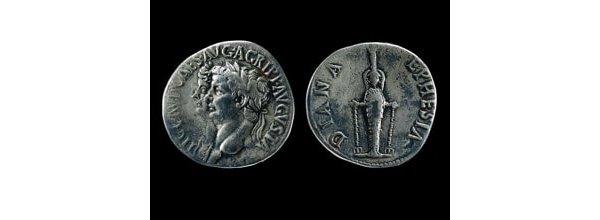 Silver cistophorus of Claudius
