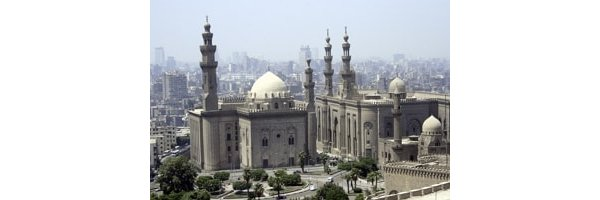 The Hassan Mosque in Cairo