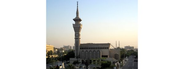 The Nasser Mosque in Cairo