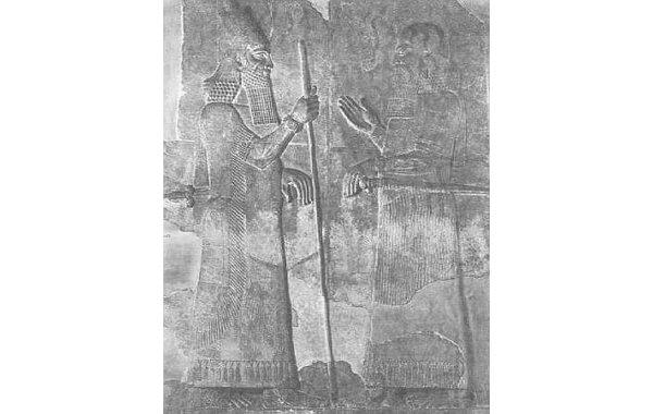 The relief of Sargon II